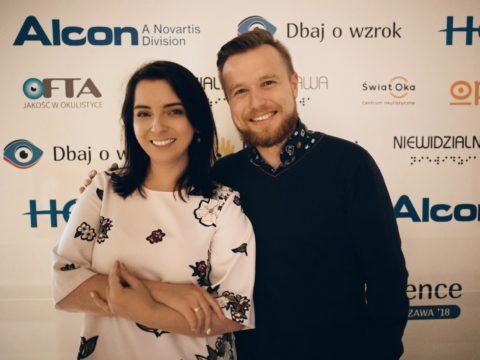 Artur Rakowski i Justyna z Dbaj o wzrok