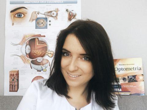 Justyna Nater z Dbajowzrok.pl