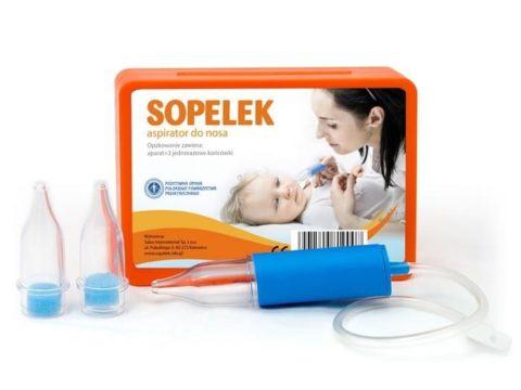 ASspirator Sopelek - zestaw z 3 końcówkami i 3 filtrami
