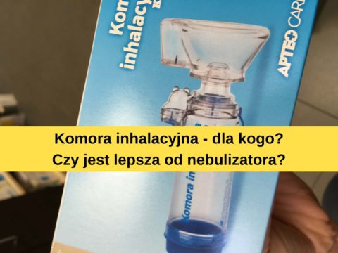 Komora inhalacyjna dla dzieci