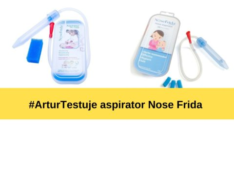 #arturtestuje aspirator Nose Frida