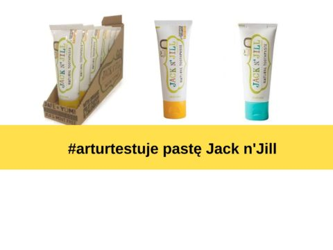 #arturtestuje pastę Jack N'Jill