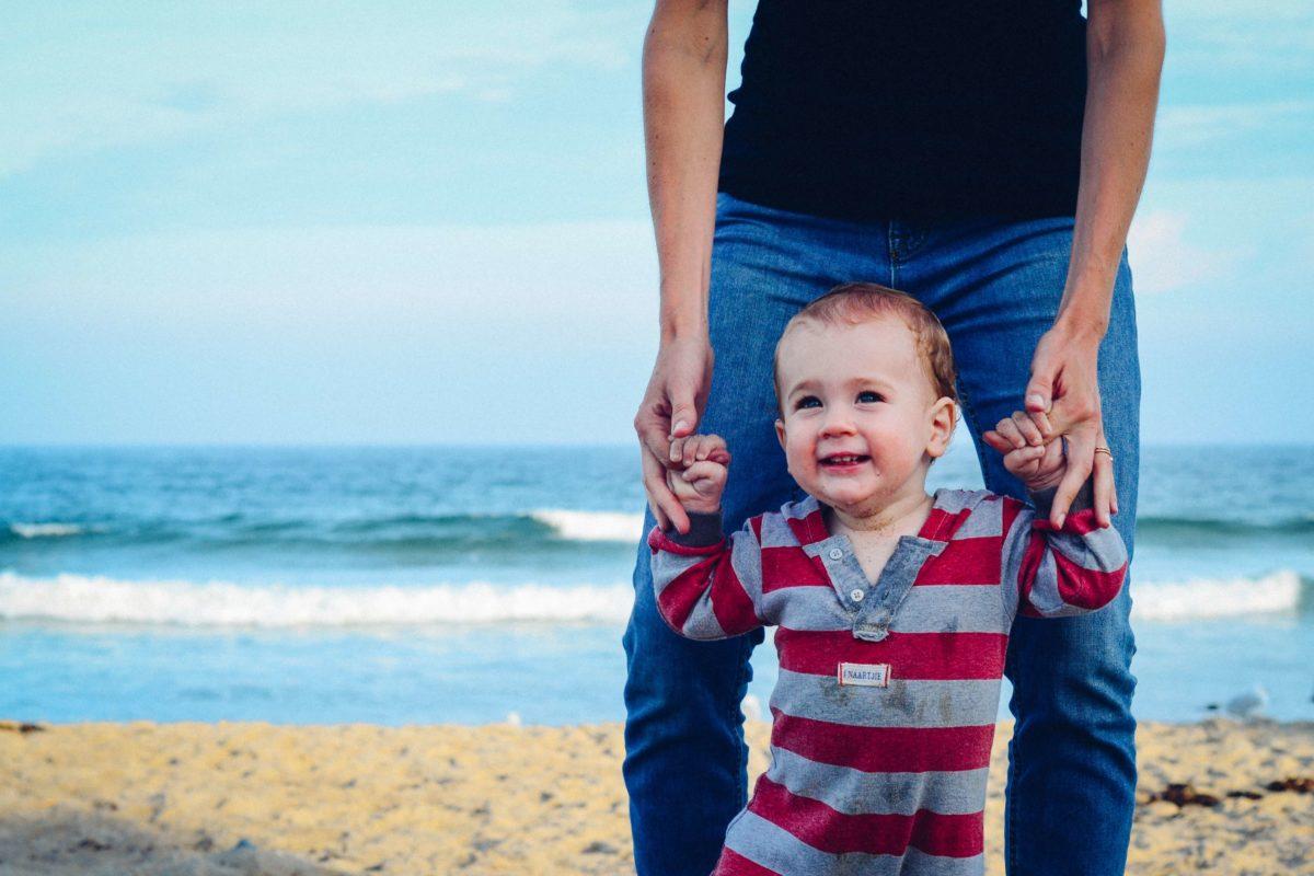 wyjazd nad morze z dzieckiem