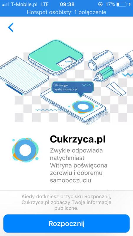 aplikacja dla diabetyków test