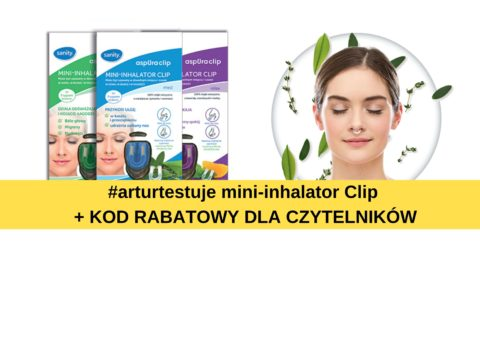 #arturtestuje mini-inhalator Clip
