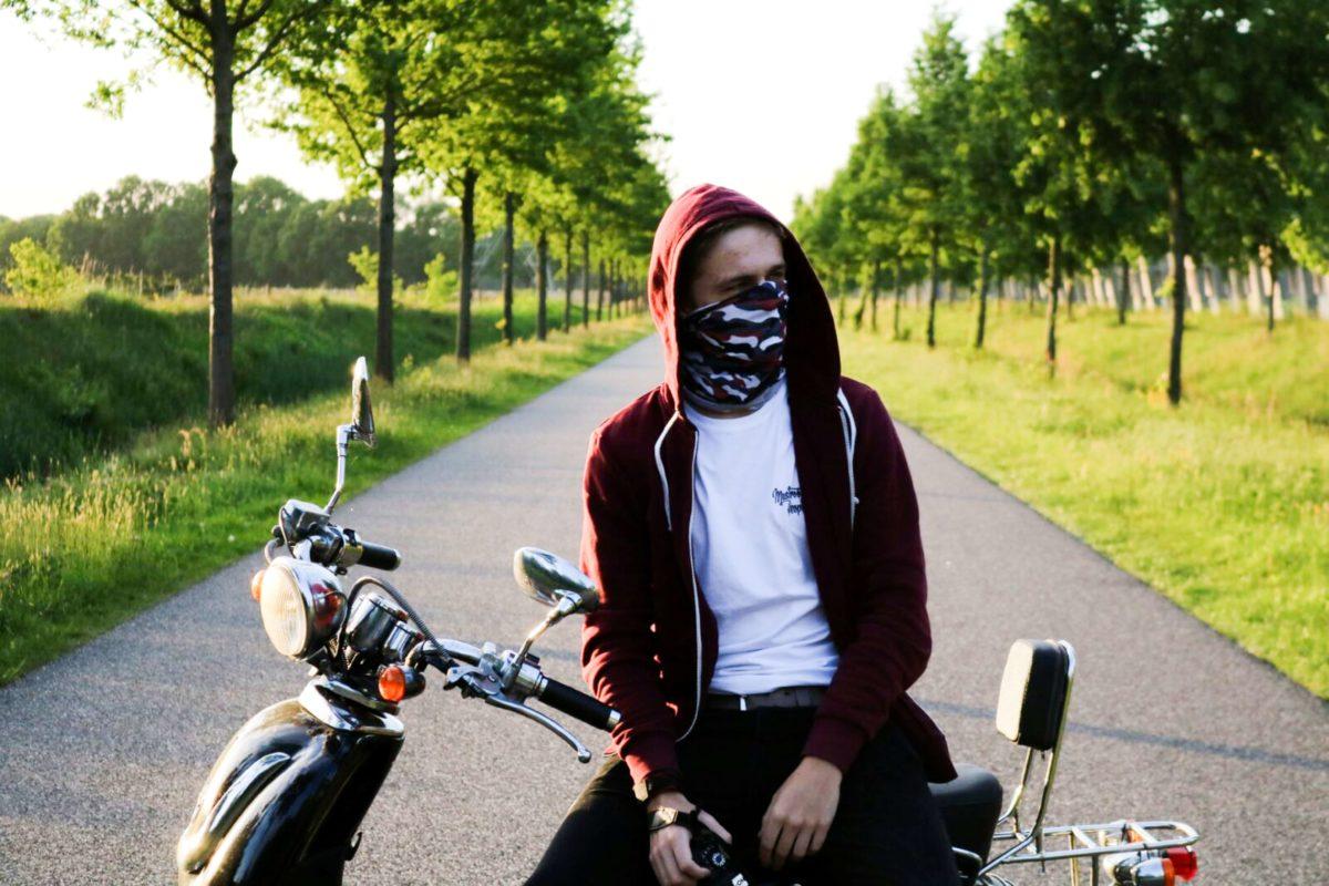 maska na rower artur rakowski