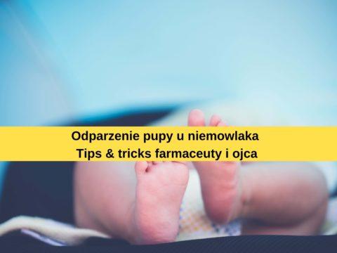 Odparzenie pupy – tips&tricks
