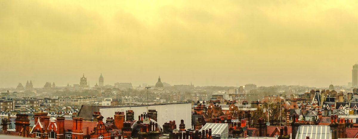 zanieczyszczone powietrze londyn
