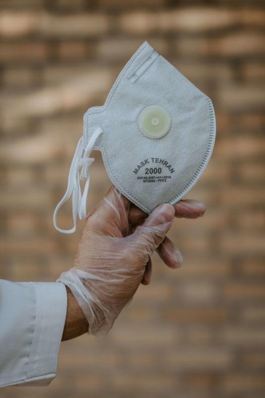 półmaska filtrująca covid rakowski