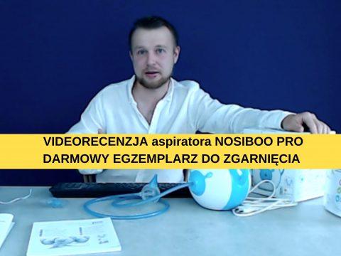 #arturtestuje aspirator Nosiboo  [VIDEORECENZJA]