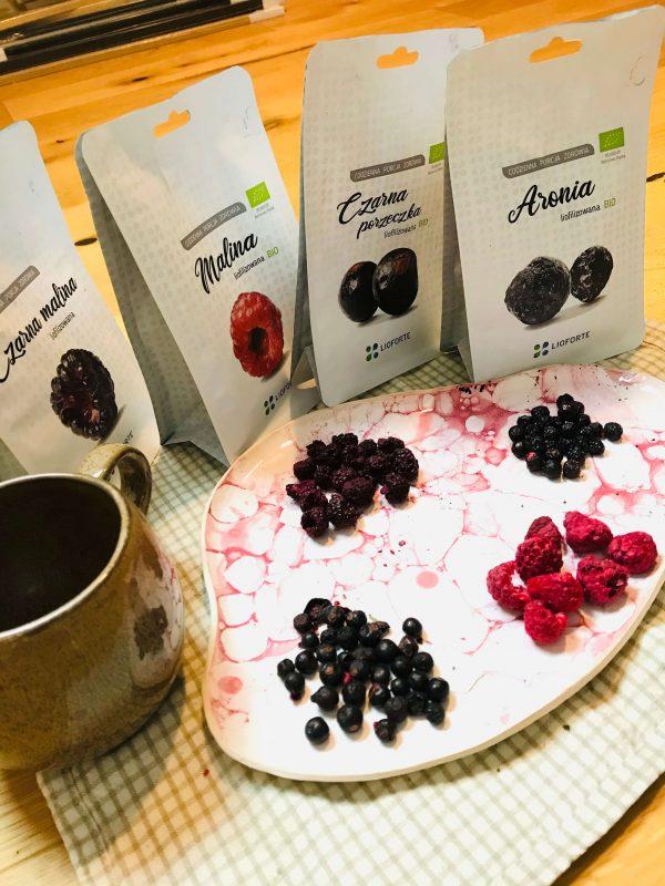Owoce liofilizowane w całości to gwarancja produktu wysokiej jakości.
